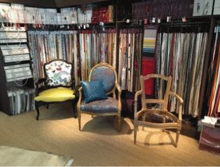tapissier décorateur nantes 44 collections tissus magasin