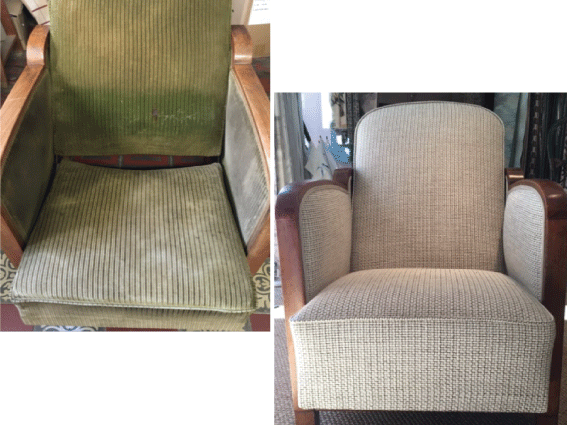 tapissier décorateur nantes 44 fauteuil club réfection complète