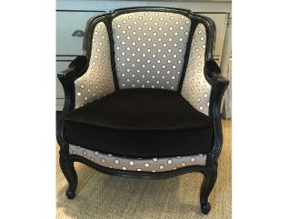 tapissier décorateur nantes 44 fauteuil patine noir