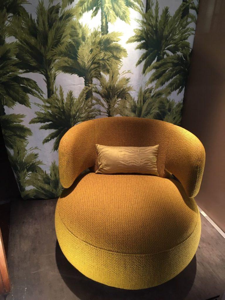 tapissier décorateur Nantes fauteuil moderne