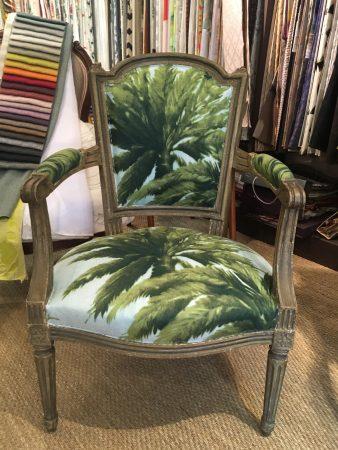 tapissier décorateur nantes 44 fauteuil louis XVI